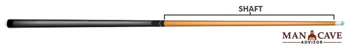 Billiard Cue Shaft