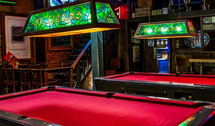 Pool Table Shades
