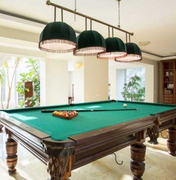 Maintaining Pool Table Lights