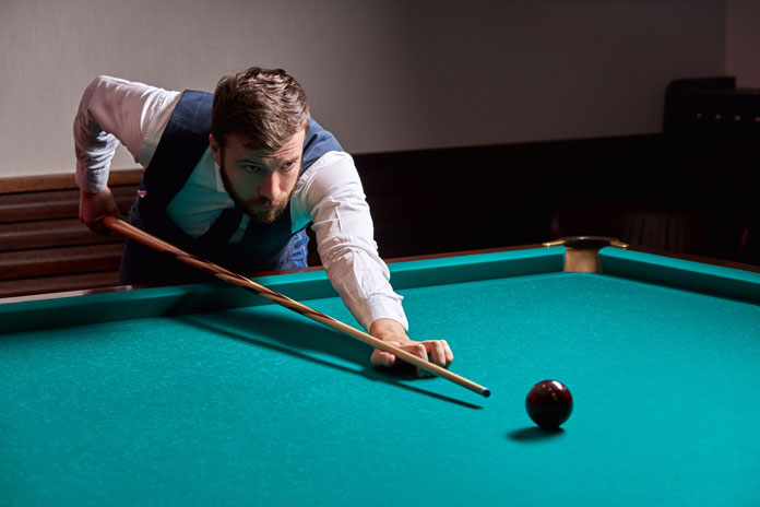 How to Hold Billiard Cue